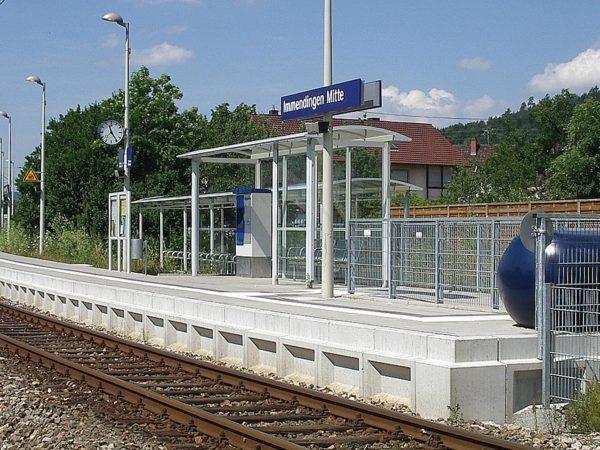 Bahnanlagen - 11 Haltepunkte im Donautal für den Ringzug